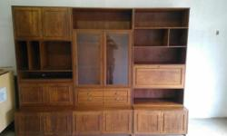 3 piece wall unit for sale.in very good condition. Got