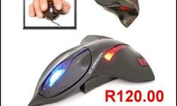 Beskrywing 3D Black Fighter Jet Optical Mouse! Great