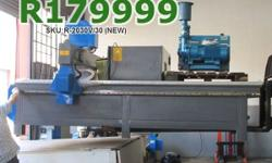 EasyRoute 2000�3000 3kW CNC Wood Router Complete Set,