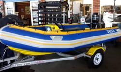 4.1m Prestige Greyhound Mono Hull Sit down console and