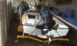 4,2M BAY BOAT M BOUNCY current , 3 cylinder yamaha 60