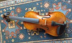 Antiqued copy of 1715 Cremonese Strad. High quality