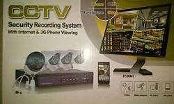 Bargain combo deal available on 4 channel camera combo