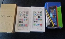 BRAND NEW IN THE BOX - UNUSED. 2 TIMES IPHONE 5S