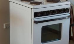 Univa 718 Stove oven 4 solid plate. Good working order.