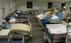 2 / 3 / 4 Section Hydraulic Hospital beds Hi-Low :