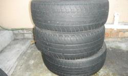 3 off  195/65/15     Tyres 1 off    205/60/15   Tyre