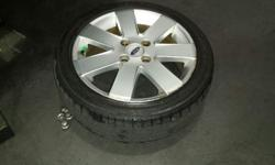 "4 x 16"" Genuine Ford Mag Rims with Tyres For Sale (2"