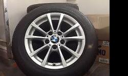 4 x BMW WHEELS WITH 205/60R16 92 W FOR SALE PERFECT
