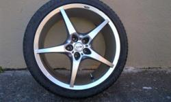 4 X MAK Mags 2 with 225/40/18 tyres.R5000
