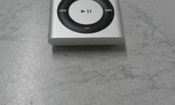 4th Generation Ipod Shuffle, 2Gig, silver in colour,