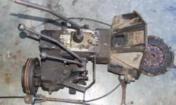 Beskrywing 1967 Willys Jeep 4 x 4 Gearbox and