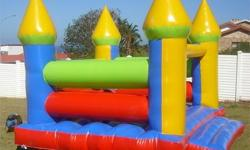 4x4 Jumping Castle with blower and carry bag