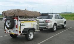 Challenger Bundu 4x4 Trailer With Rooftop Tent For Sale