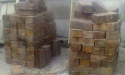 500 Paving Red Bricks - covers 15 Square Meters (Red