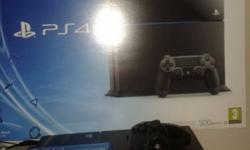 500GB PS4 for sale. Console was purchased in December