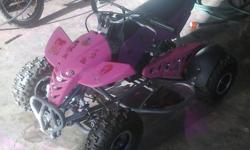 I'm selling this four wheeler pocket bike, it is in a