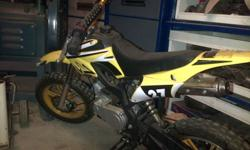 50cc Scrambler for sale, first owner, only had it for