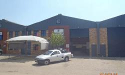 This 530sqm mini warehouse is situated in a secure