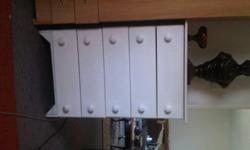 Well looked after 5 draw chest hardly used R 550.00