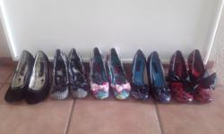 5 pairs Of Iron Fist heels for sale on R950 for all 5