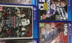 5x PS4 games to swop or sell: Madden 25 (R290), NBA2K15