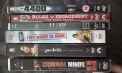 INCLUDED ARE 6 ORIGINAL TV SERIES DVD SETS 1)CRIMINAL