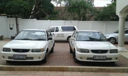 6 Toyota Tazz for sale. All cars are roadworthy and all