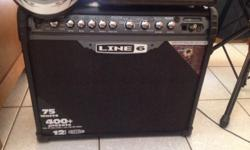 I'm selling my 75watt amplifier line 6 spider that