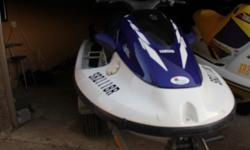 760 Yamaha Wave Blaster 2 1997 model Specifications