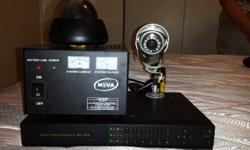 7 Channel Security Camera System Comes Complete With A