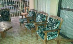7 Seater Imbuia Ball & Claw Lounge Suite for sale,