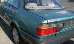 WE ARE BRAKING UP A 92 TOYOTA COROLLA 160 16 V FOR