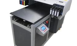 A2 size digital printer, can print eight colors Color &
