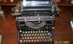 This giant Underwood was first constructed around 1915