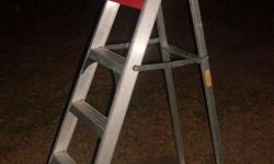A Frame 1.8 m ladder in good condition