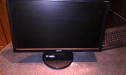 1)19,5 INCH ACCER MONITOR FOR SALE THIS MONITOR IS IN