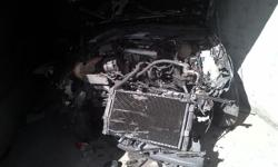 Front end accident damaged VW Golf 3 Gti stripping for
