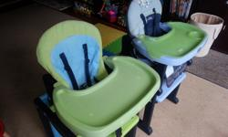 2 Activa Jane High chairs/feeding chairs - can be