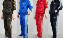 Adidas 2 piece mens and ladies different colors and