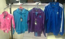 We are selling adidas tracksuits for men and ladies and