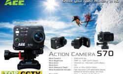 The S70 Magicam action camera can go anywhere and