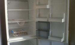 selling an upright fridge. 2 door. 1850 tall 600 wide.