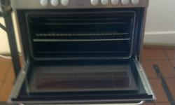 1 * AEG 5 plate gas stove with electric oven, includes