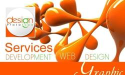 We provide graphic and web design services. All our