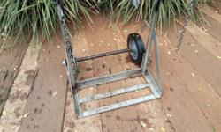 Afrox gas bottle trolley for sale. Contact Johan.