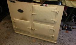 Beautiful Aga stove in very good condition. Dismantled