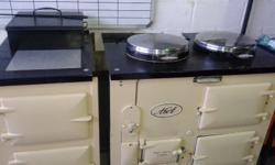 LARGE AGA STOVE Good condition Needs 1 element (can be