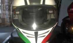 AGV Skyline size large, with internal sun visor and