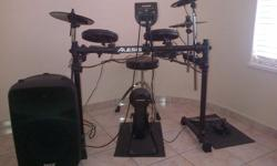 Electric drums for sales - Alesis DM6 complete package